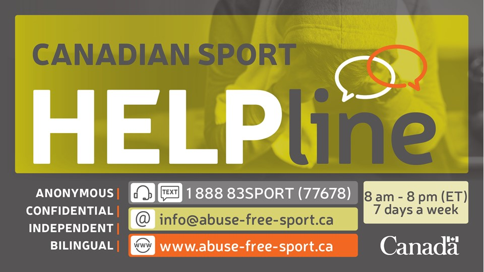Canadian Sport Helpline | Canadian Centre for Ethics in Sport
