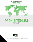 2017 Wada Prohibited List