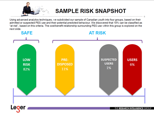 Sample Risk Snapshot