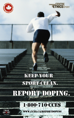Report Doping Hotline Poster (vertical)