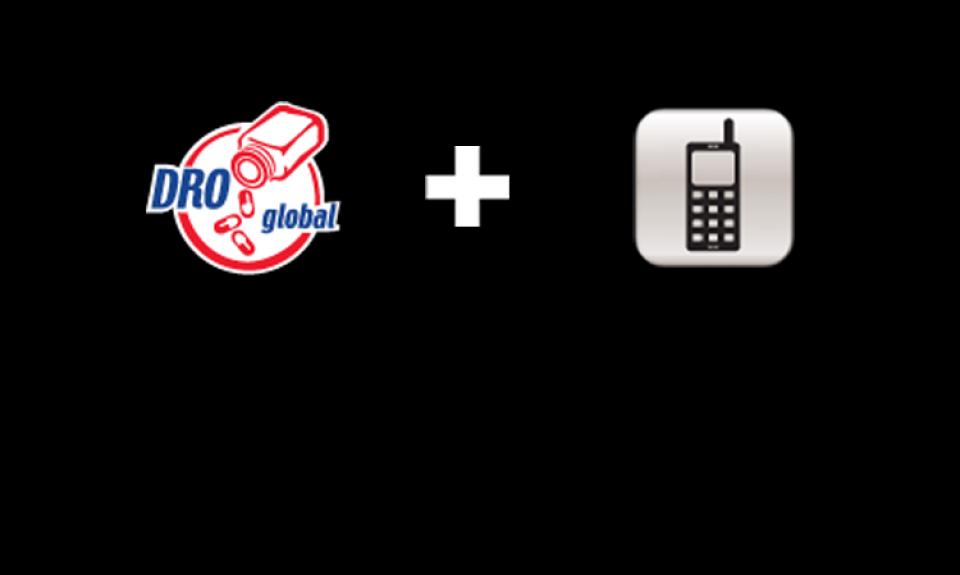 Accéder au droglobal.com avec un téléphone intelligent!