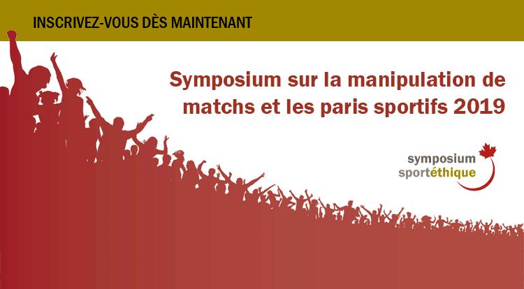 Symposium : Manipulation de matchs