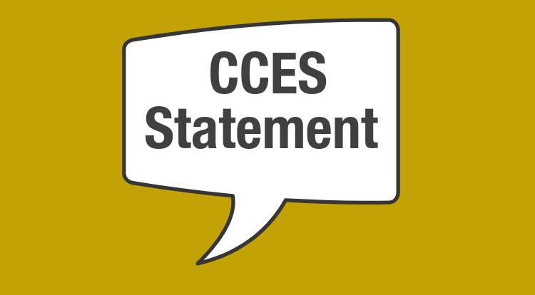 CCES Statement