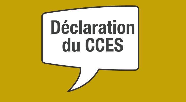 Énonce du CCES