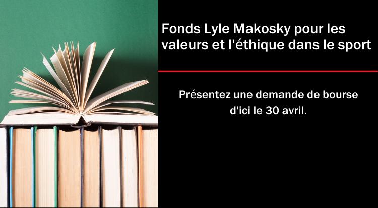 Image de bannière du Fonds Lyle Makosky pour les valeurs et l'éthique dans le sport