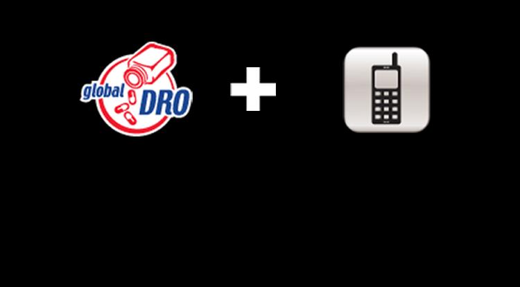 Go to www.globaldro.com on your smartphone