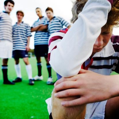 L'in timidation n'a pas sa place dans le sport