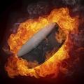 Flaming Puck