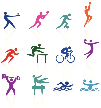 Stick Figure Graphics of Sports