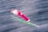 A Ski Jumper Soars