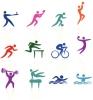 Stick Figure Graphics of Sports