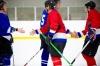 Hockey Players Shake Hands